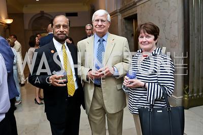 Marshall Chawla, Jack Siggins, Maureen Sullivan. Photo by Tony Powell. On the 60th Anniversary of the Newport Jazz Festival. National Archives. June 19, 2014