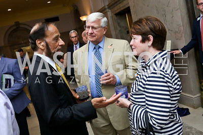 Marshall Chawla, Jack Siggins, Maureen Sullivan. Photo by Tony Powell. On the 60th Anniversary of the Newport Jazz Festival. National Archives. June 19, 2014