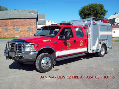 REYNOLDSVILLE FIRE DEPT. PUMPER 6 2003 FORD// MINI PUMPER