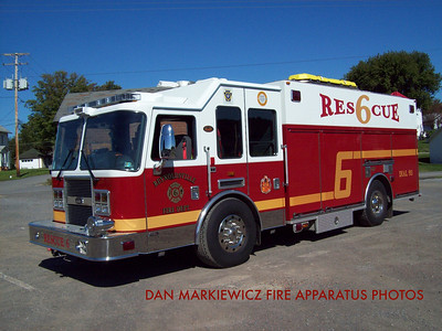 REYNOLDSVILLE FIRE DEPT. RESCUE 6 2007 KME PUMPER/RESCUE