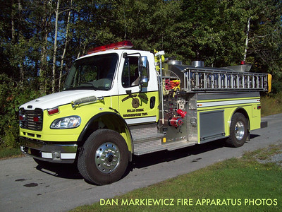 FRIENDSHIP HOSE CO. FALLS CREEK WASHINGTON TWP. TANKER 4 2006 FREIGHTLINER/SEMO TANKER