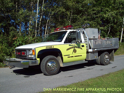 FRIENDSHIP HOSE CO. FALLS CREEK WASHINGTON TWP. ATTACK 4 1996 GMC/FHC MINI PUMPER