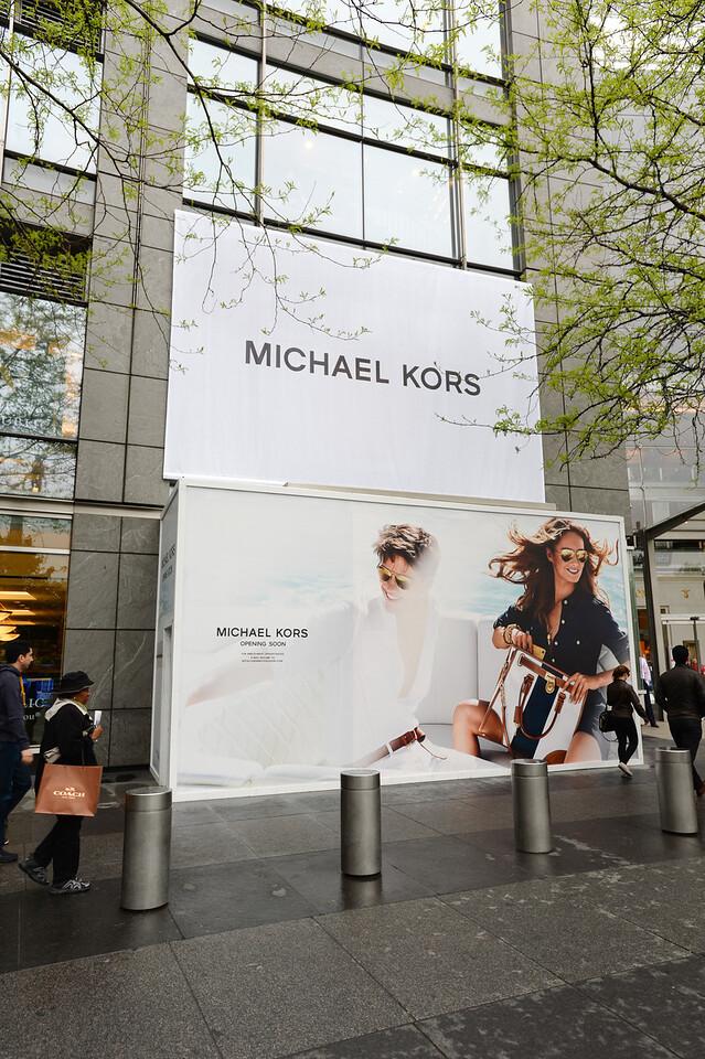 the Michael Kors at Time Warner Center