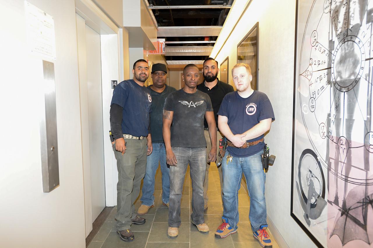 work preformed at 145 Hudson Street