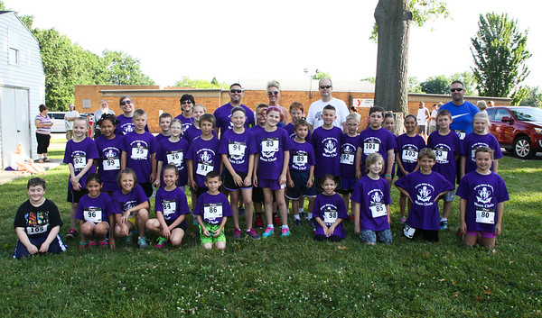 June 18, 2016 in Vermilion. The annual Y 5 K race, was enjoyed by all on a beautiful Saturday morning.
