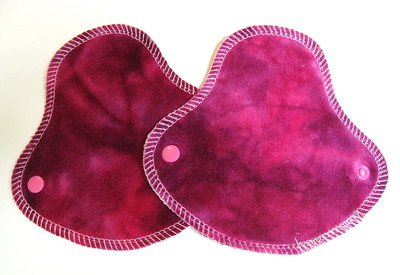 "TWO HalfWrap Liners - breathable - ""fuschia"""