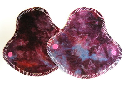 "TWO HalfWrap Liners - breathable - ""ice dye"""