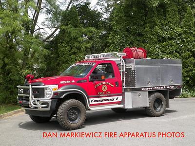 FRIENDSHIP FIRE CO. PORT ROYAL BRUSH 16 2011 FORD/BRAT BRUSH UNIT
