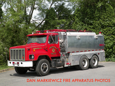 FRIENDSHIP FIRE CO. PORT ROYAL TANKER 13 1989 INT/99 GUARDIAN TANKER