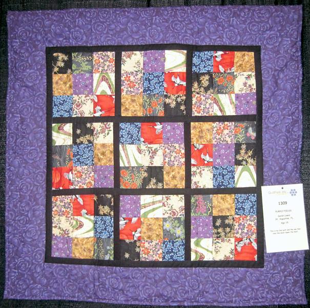 Purple Fields<br /> Sarah Lewis<br /> Age 15