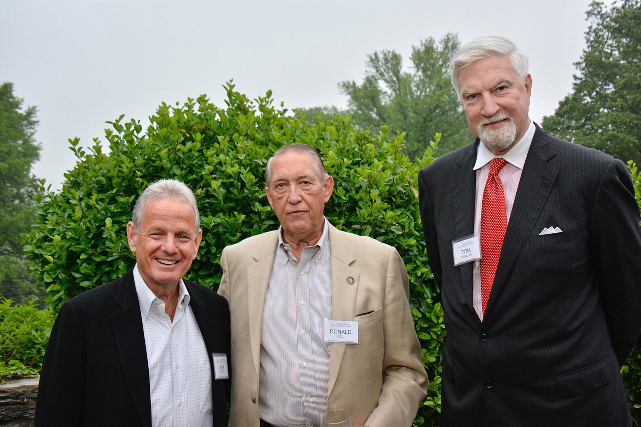Bob Pincus; Donald Dell; Tom McMillen