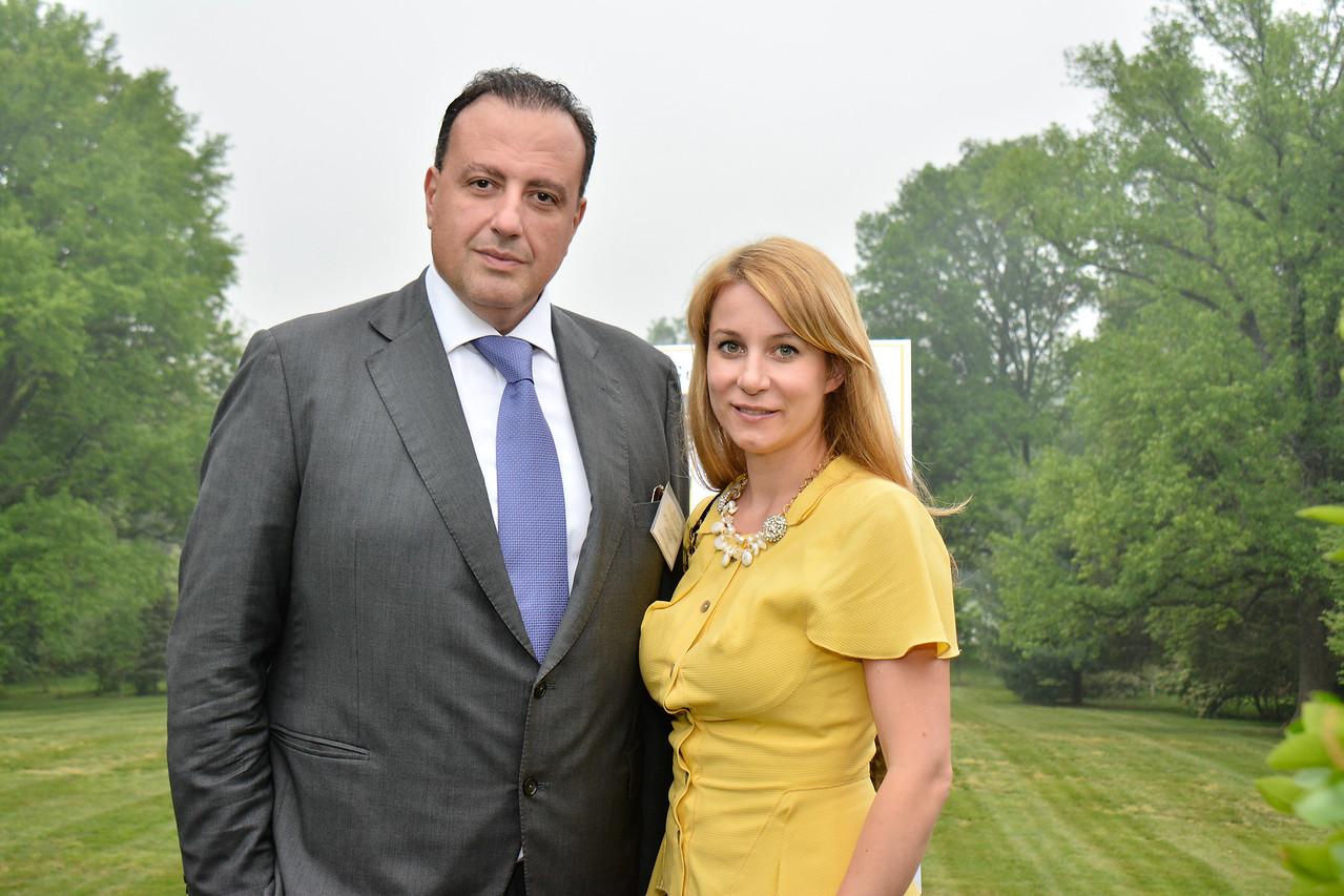 Amb. Vladimir Petrovic; Adela Petrovic
