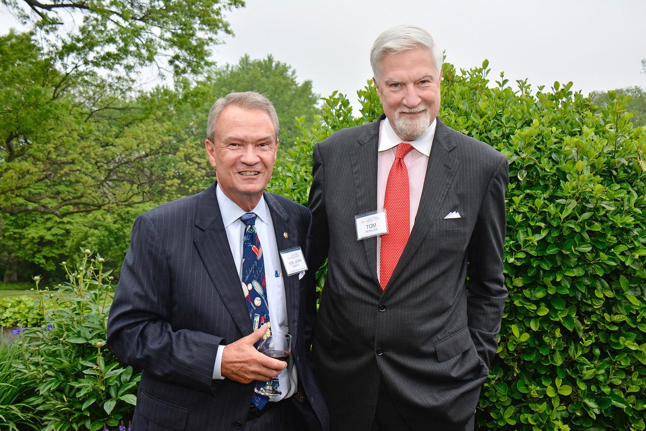 Hon. John Breaux; Tom McMillen