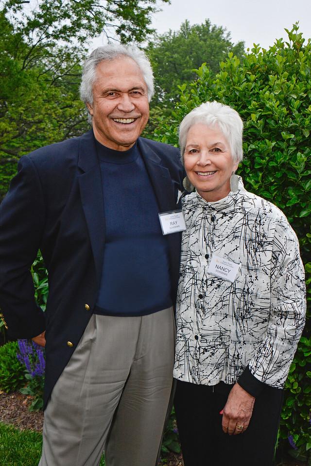 Ray Schoenke; Nancy Schoenke