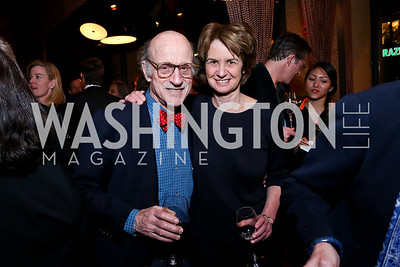 Finlay Lewis, Kathleen Kennedy Townsend. Photo by Tony Powell. Kara Kennedy Fund Launch Party. Jaleo Bethesda. February 18, 2014