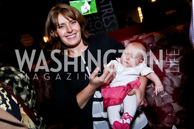Amy and Nora Kara Kennedy. Photo by Tony Powell. Kara Kennedy Fund Launch Party. Jaleo Bethesda. February 18, 2014