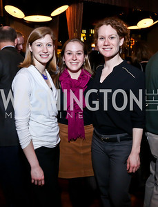 Kerry Kennedy Townsend, Tess Petersen, Kat Kennedy Townsend. Photo by Tony Powell. Kara Kennedy Fund Launch Party. Jaleo Bethesda. February 18, 2014