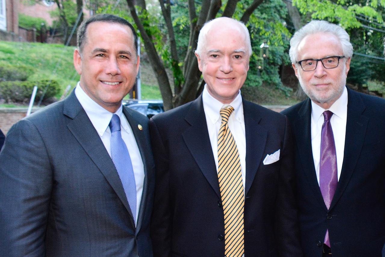 Philip Levine, David Bradley, Wolf Blitzer