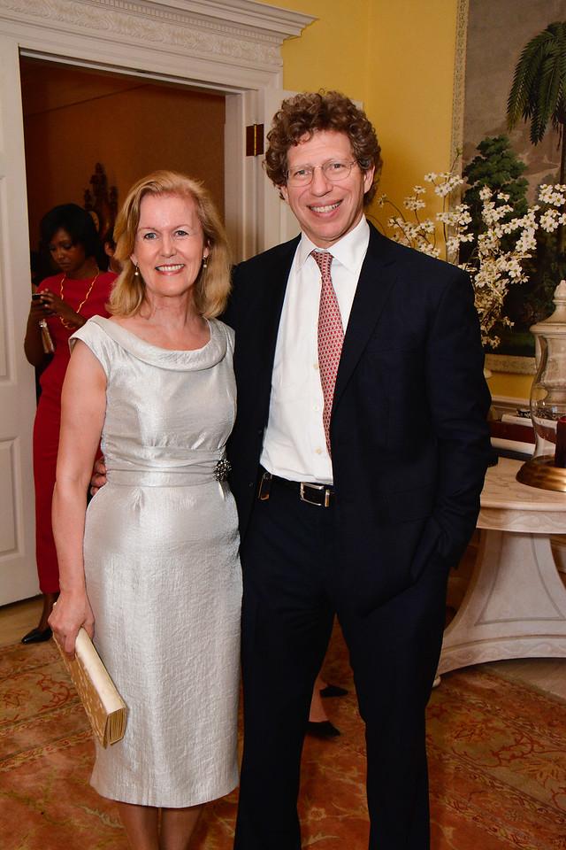 Ambassador Anne Anderson, Dr. Franklin Lowe