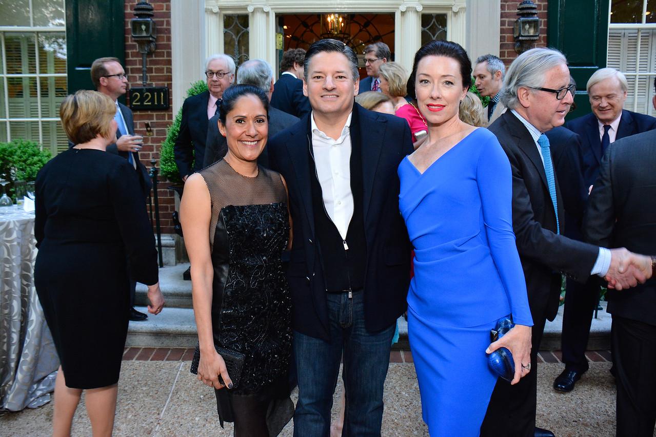Sakina Jaffrey, Ted Sarandos, Molly Parker