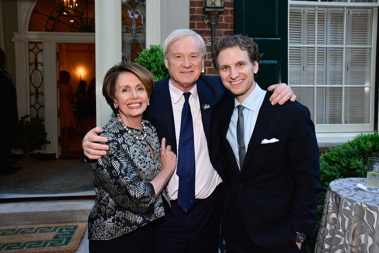 Nancy Pelosi, Chris Matthews, Sebastian Arcelus
