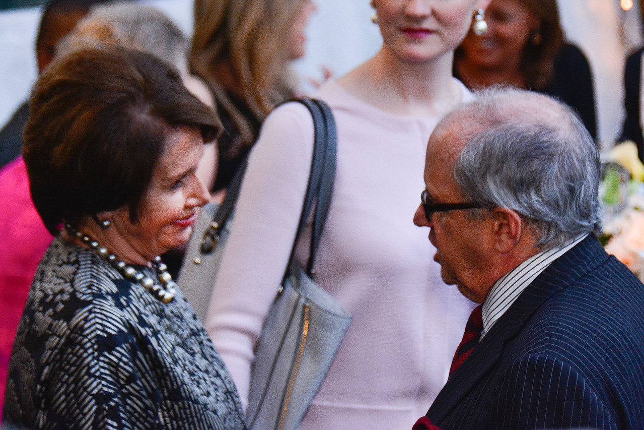 Nancy Pelosi, Norm Ornstein