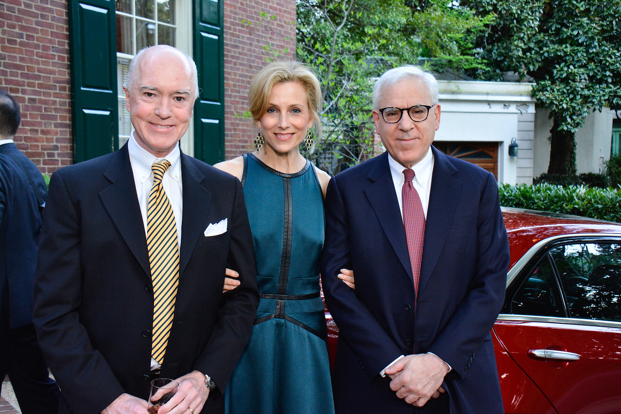 David Bradley, Katherine Bradley, David Rubenstein