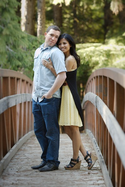 Romantic shot at the Ross creek Bridge