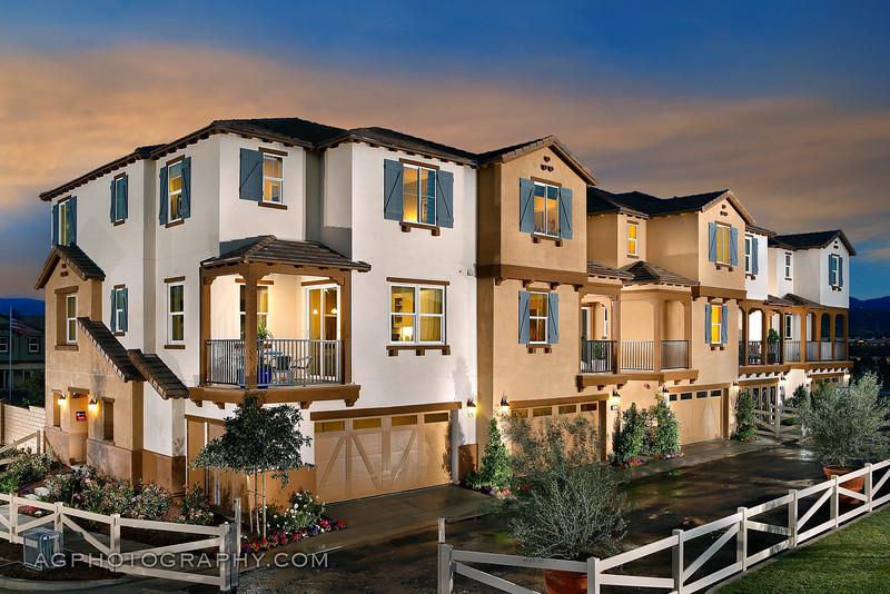 Kensington Models by Beazer Homes, Santa Clarita, CA, 3/31/15.
