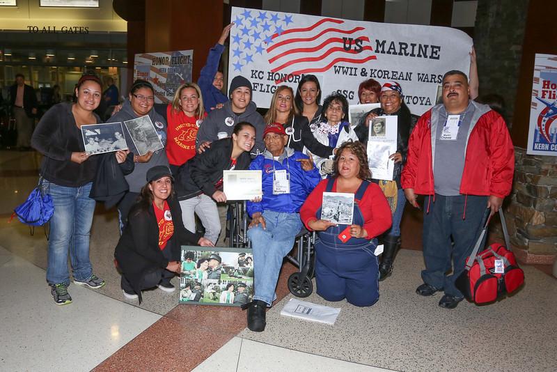 Kern County Honor Flight to Washington DC on May 4-6, 2014