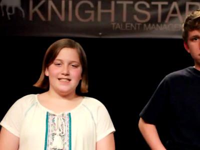 Ella and Xander Knightstar 3-27-15