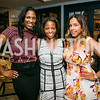 """Kadrieka Maiden, Ashley McNeil-Coleman, Eleanor Arlook. Photo by Alfredo Flores. Knock Out Abuse Jr. Board """"Party for a Cause."""" Teddy and The Bully Bar. July 10, 2014"""