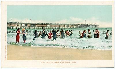 Surf Bathing, Long Beach, California