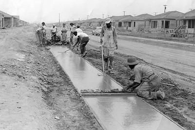 Sidewalks, 1950