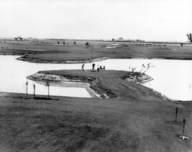 Lake Tee at the Lakewood Golf Course, about 1933