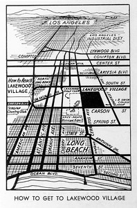How to get to Lakewood Village, 1933