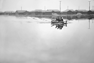 Subject to flooding, 1953