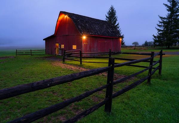 Dawn Twilight, Tucker County West Virginia