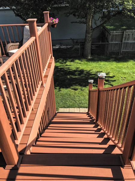 Deck Stairs Down
