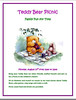 Mt. Vernon Library Teddy Bear Picnic Flyer