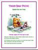 Mt. Vernon Library Teddy Bear Picnic Flyer