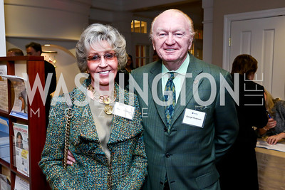 Marilyn and George Pedersen. Photo by Tony Powell. Life With Cancer's 25th Anniversary Brunch. January 26, 2014