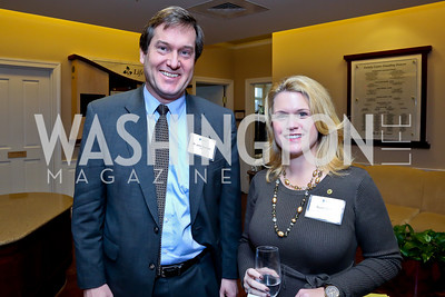 Dr. John Deeken, Susan Carr. Photo by Tony Powell. Life With Cancer's 25th Anniversary Brunch. January 26, 2014
