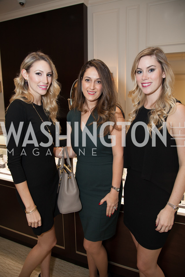 Lauren Witchie, Linda Golparvar, Lindsey Witchie