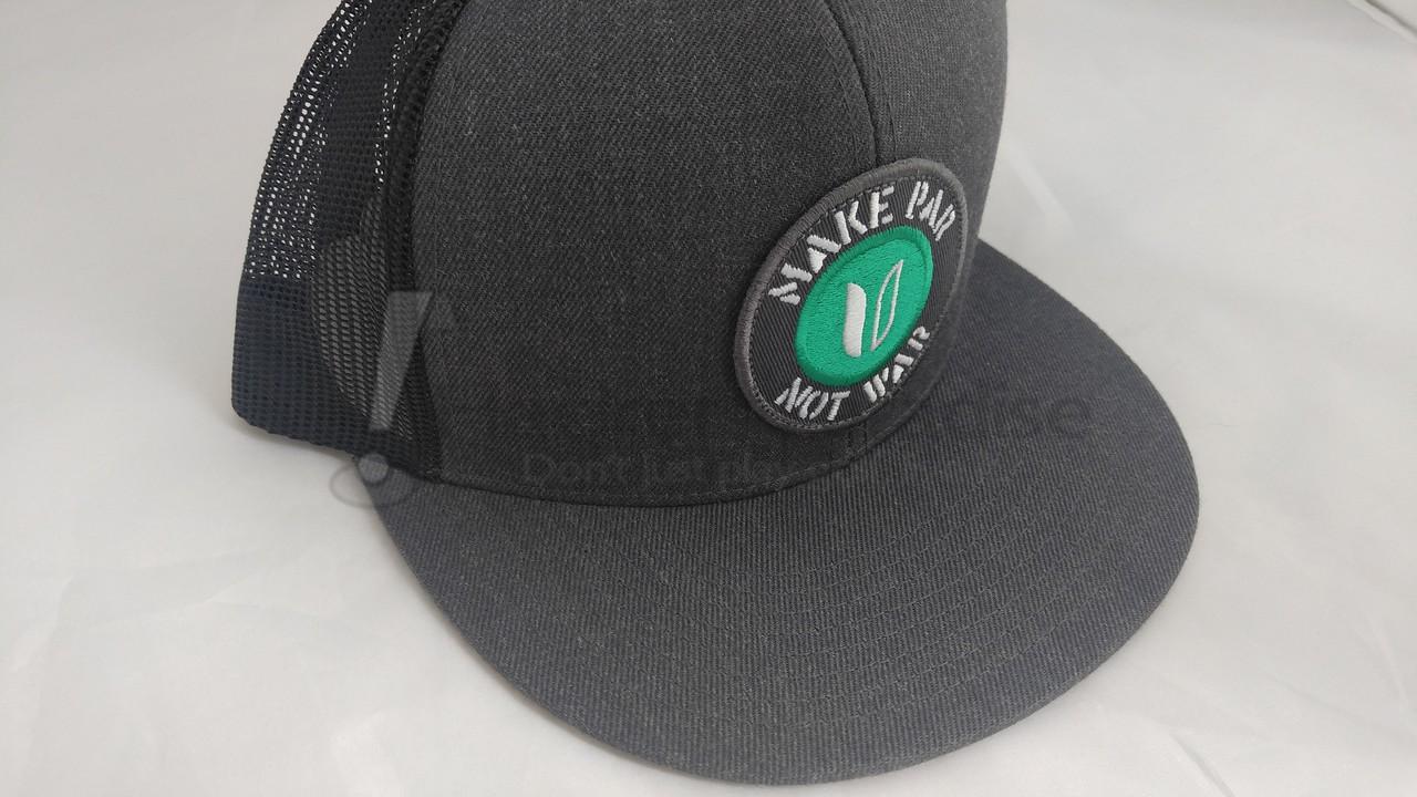 Make Par Not War Trucker Hat 05f3d73c9f6