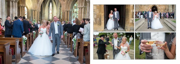 Lisa & Steve wedding Album Pershore Abbey