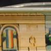 Back: Paris, Tour Eiffel, Arc De Triomphe<br /> Front:  Tour Eiffel, Arc De Triomphe<br /> Floater:  Bus/Metro<br /> Style: Classic<br /> Color: pink<br /> Cost: $3.00 small bubble<br /> Category: Europe