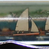 Back: Newport Rhode Island<br /> Front:  harbor scene<br /> Floater:  Sailboat <br /> Style: Classic<br /> Color: green<br /> Cost: $6.00<br /> Category: States R S T U V W