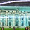 Back: The White House<br /> Front:  The White House<br /> Floater:  marching guards<br /> Style: Classic<br /> Color: pink<br /> Cost: $6.00<br /> Category: Washington DC