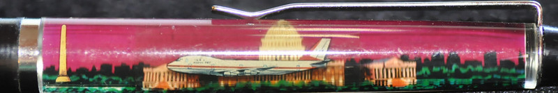 Back: Washington, Our Nations Capital<br /> Front:  The Capitol Building at night<br /> Floater:  airplane<br /> Style: Classic<br /> Color: black <br /> Cost: $6.50<br /> Category: Washington DC